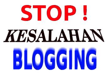 7 kesalahan blogger