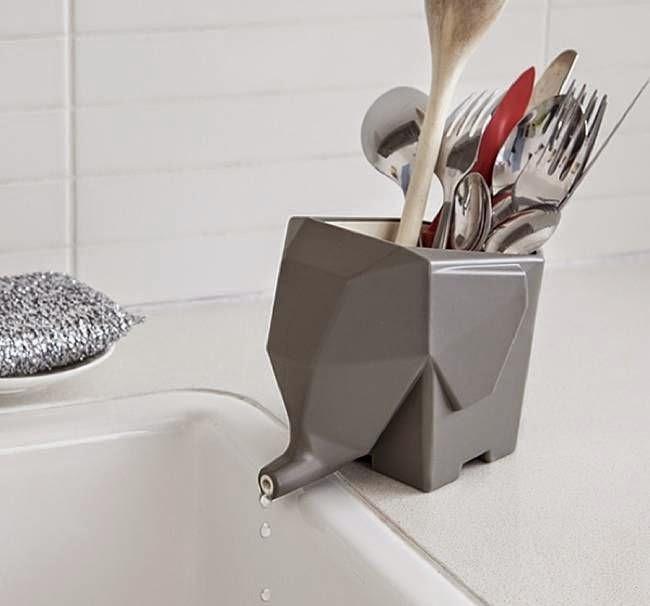 Elephant Cutlery Drainer Best Kitchen Gadgets 2015