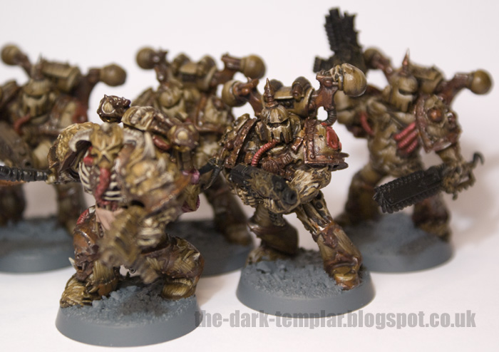 the dark templar plague marine progress. Black Bedroom Furniture Sets. Home Design Ideas