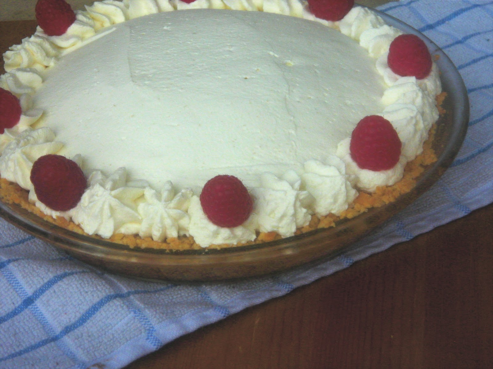 ... Life: Raspberry Cream Pie (Making Good Use of Leftover Pie Filling