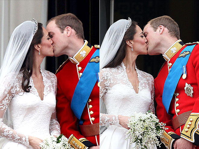 kate middleton and prince william kiss. Prince William and Kate