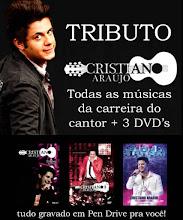 Imperdível! Discografia Completa Cristiano Araujo - Todas as músicas + 3 DVDs