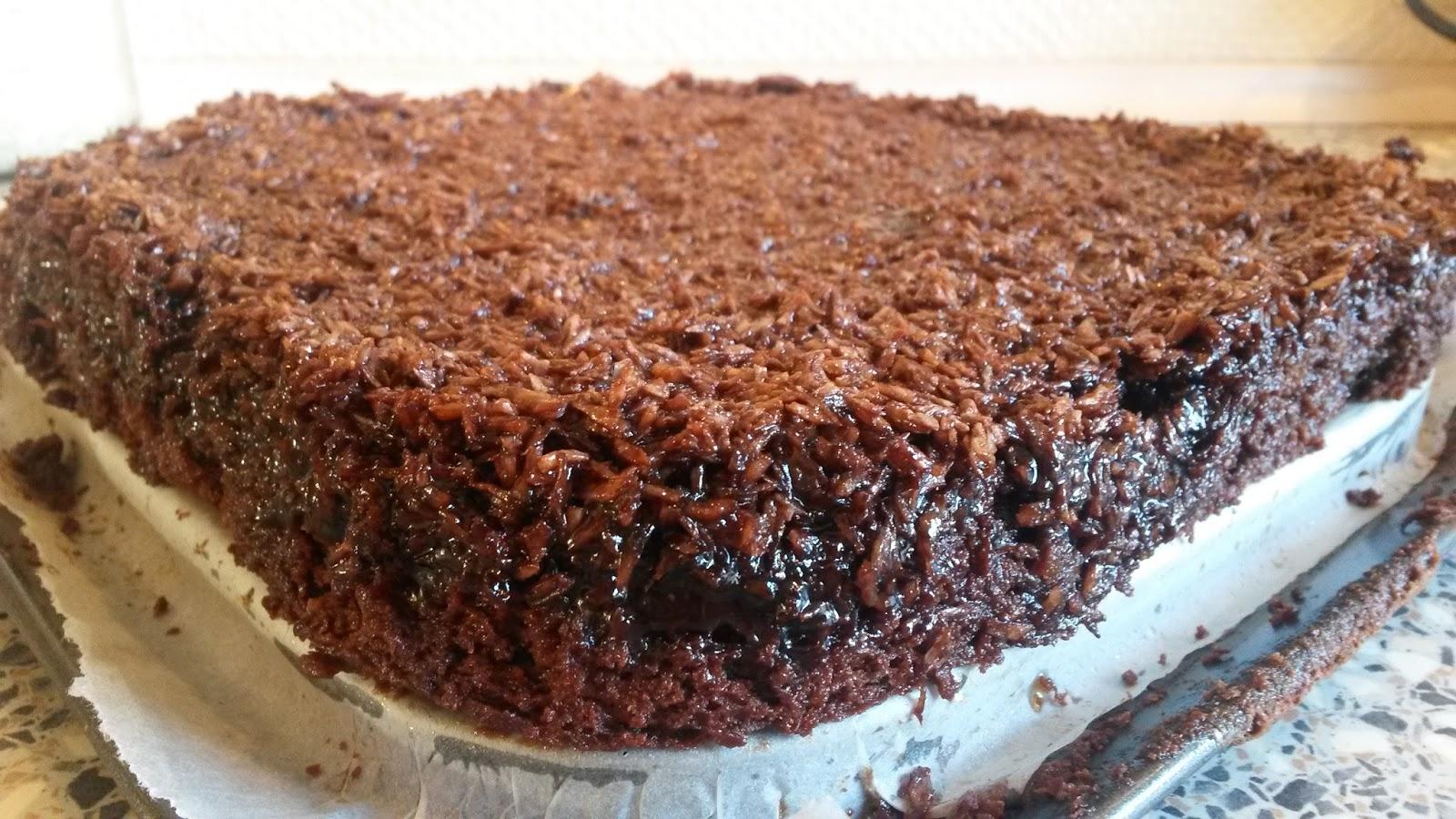 chokoladekage topping
