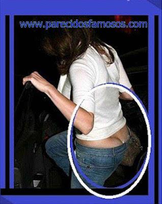 Jennifer Lopez  foto Descuidos de Famosos