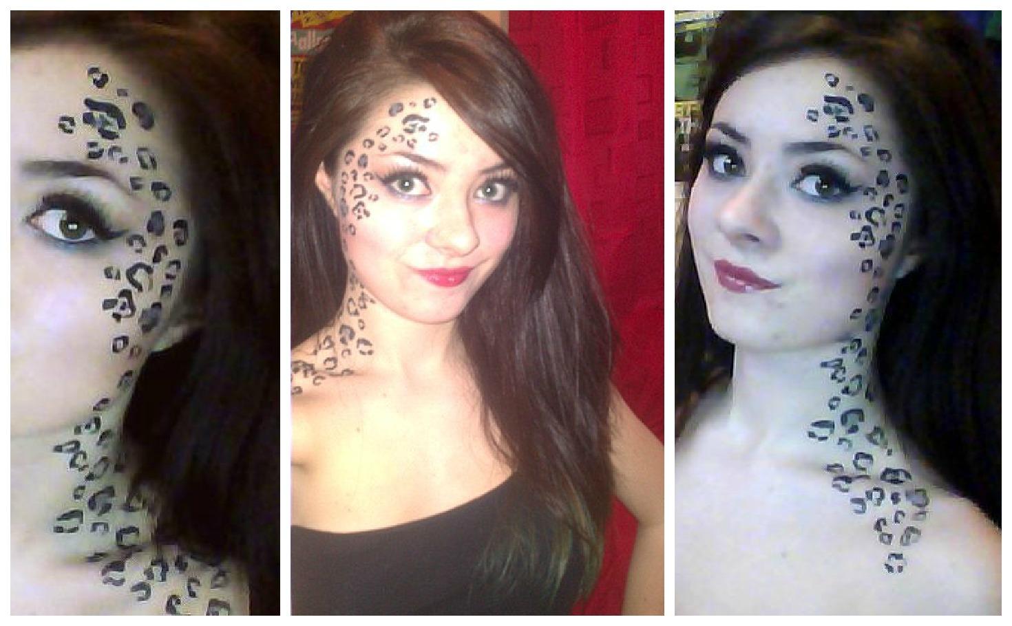 Dominique Smith Makeup Leopard Print Makeup