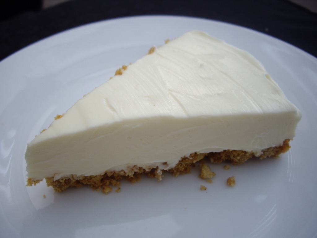 White Chocolate Cheesecake White chocolate cheesecake