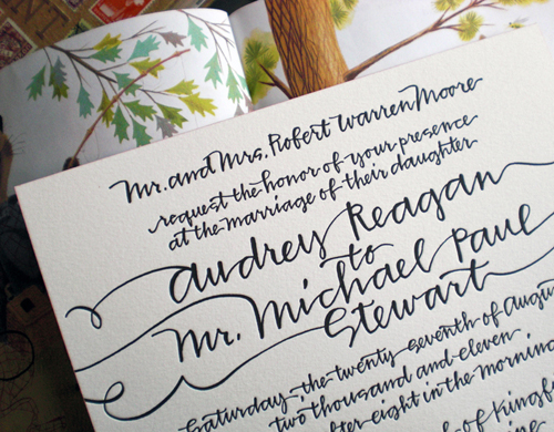 39Handwritten Wedding Invitations39 Imprint your own Feelings