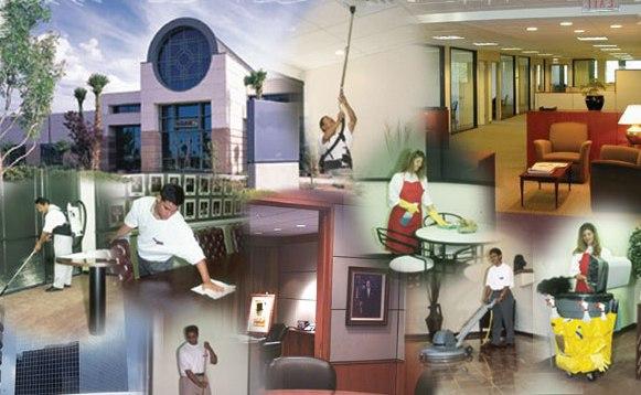 Obras limpieza y retirada de residuos con productos y for Empresas de mantenimiento de edificios en madrid
