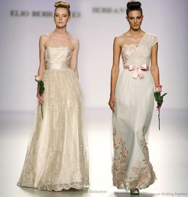 Gold Wedding Gowns: A Wedding Addict: Perfect Light Gold Soft Wedding Dress