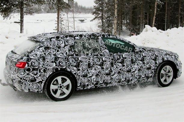 Spy Photos: 2012 Audi A6 Sedan