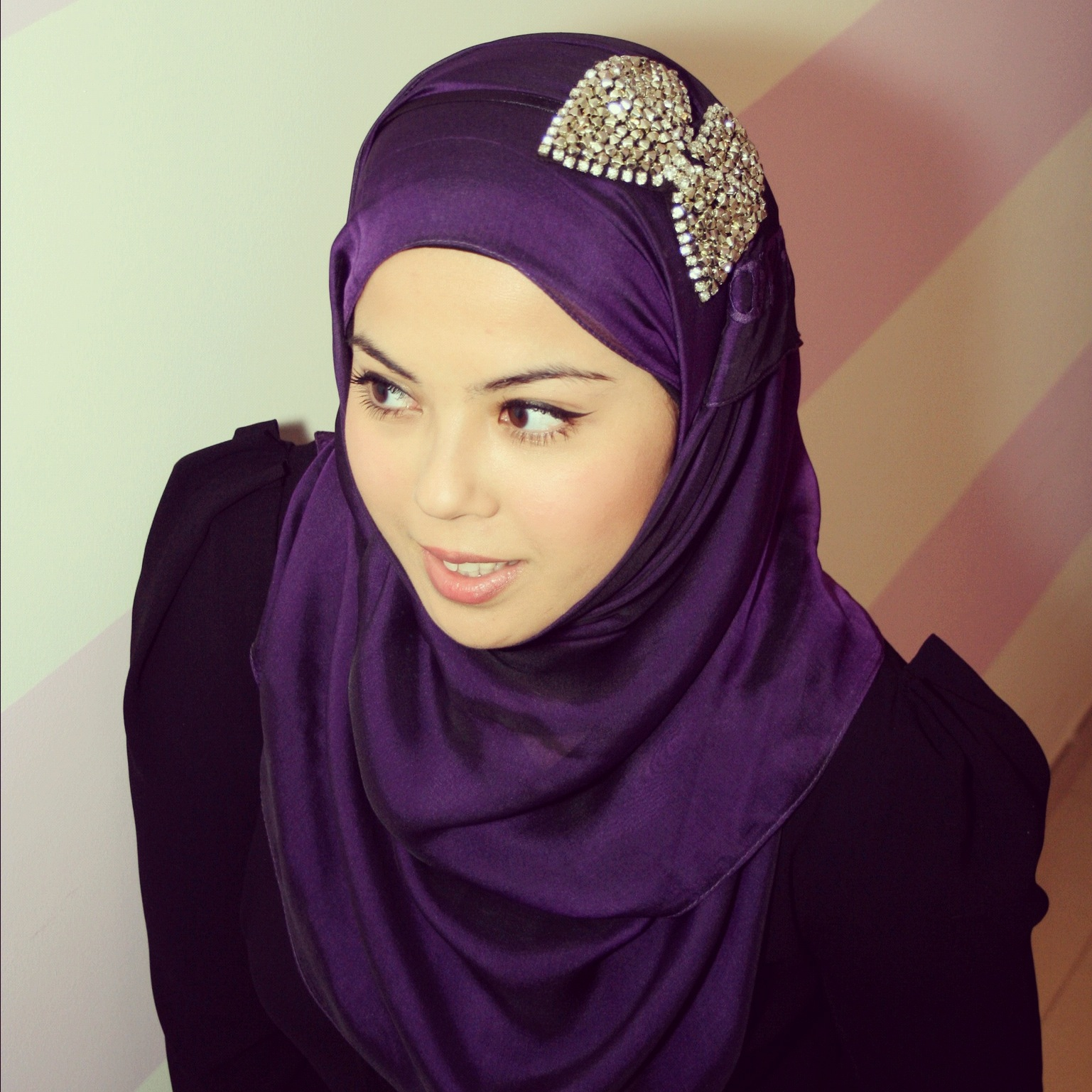 CARA PAKAI HIJAB JILBAB: Aneka Headband Cantik