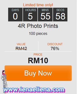 Gambar 4R RM0.10 Sekeping Minimum 100 Keping