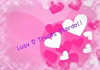 Lusy Love Trucos Stardoll