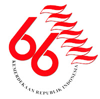 Logo HUT Republik Indonesia ke 66