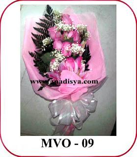 bunga mawar olivia style