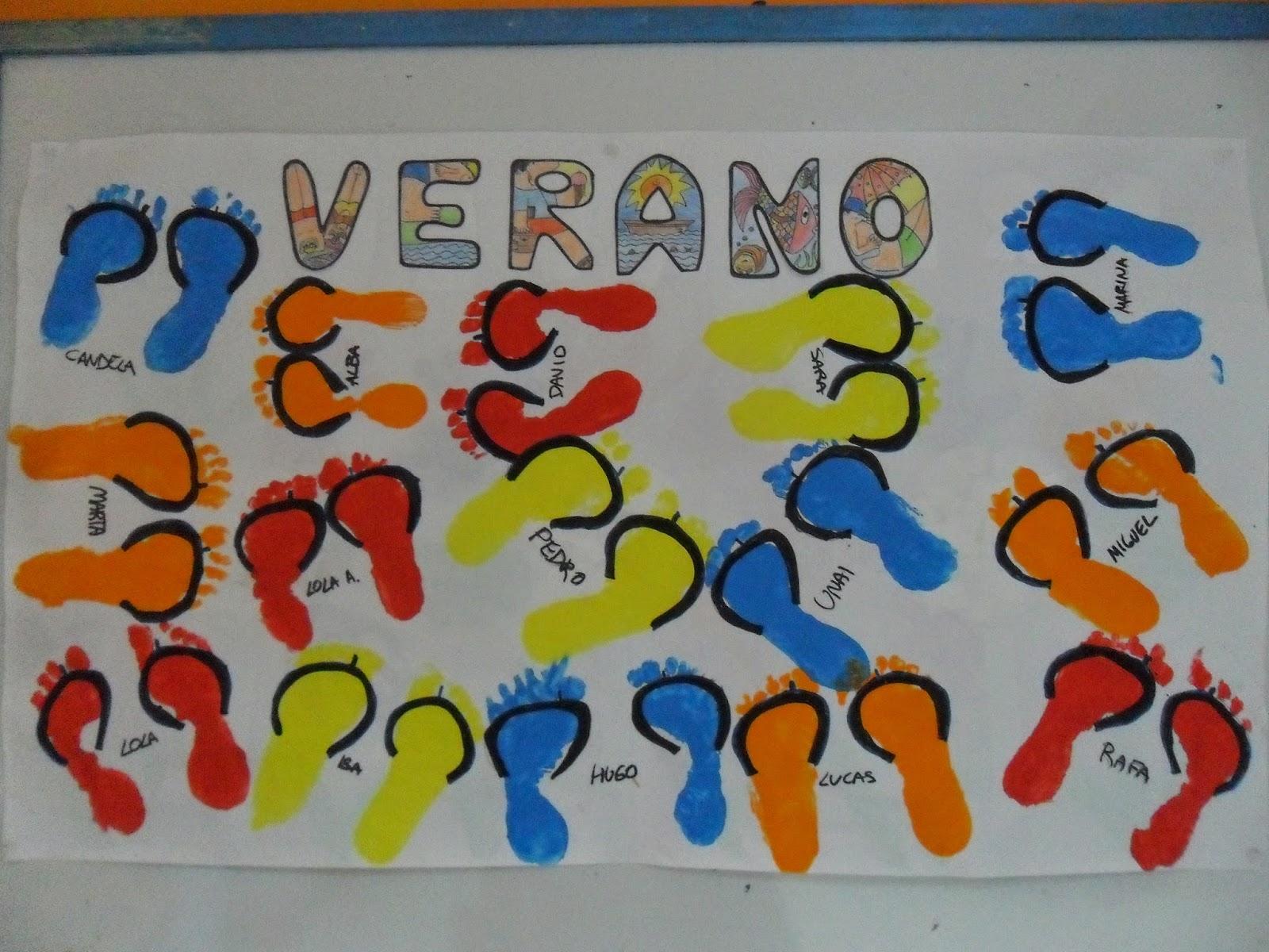 Recursos para educaci n infantil murales para el verano for Jardin infantil verano 2016