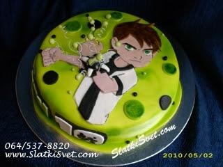 Torta Ben Ten 10