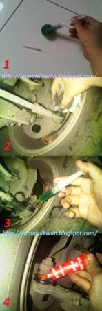 Cara kerja menyuntik ball joint