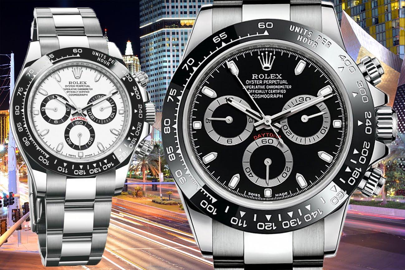 Rolex Daytona Black And White