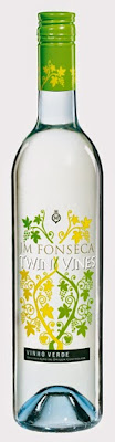 Twin Vines Vinho Verde wine bottle