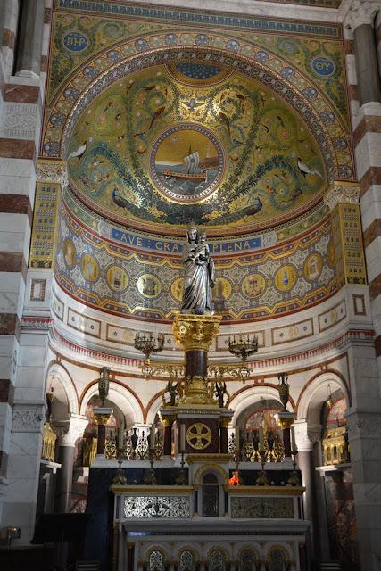 Basilica Notre-Dame de la Garde Marseille altar