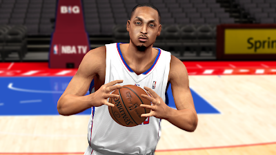 NBA 2K14 Ryan Hollins Cyberface Patch