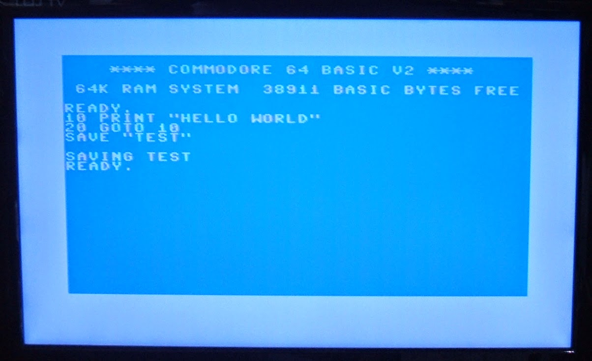 how to connect a commodore 64