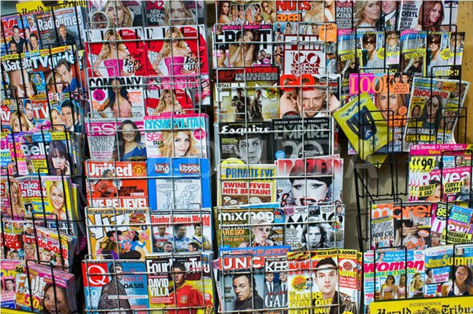Education And Science: Magazine Stand - Stock Image I1798074 at ...
