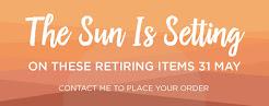 retiring items