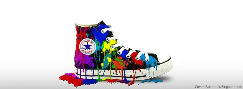 Colored Converse Facebook Covers, FB Profile Cover