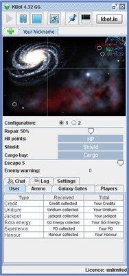 Darkorbit KBot 5.56 GG Oyun hile botu indir – Download