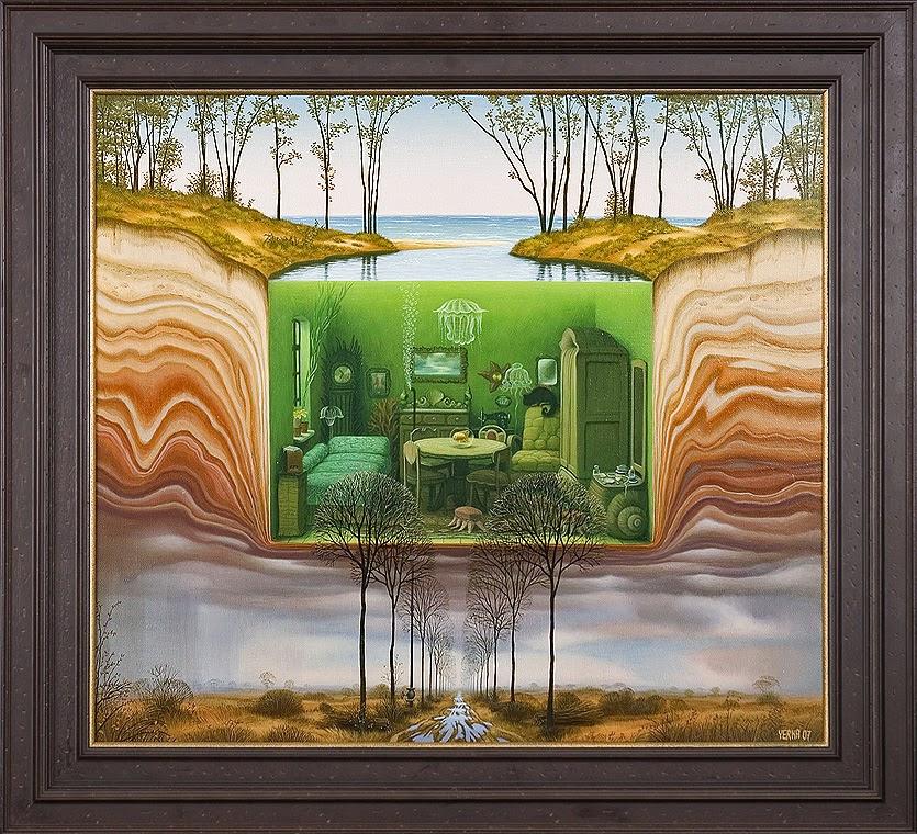 01-Aquarium-Jacek-Yerka-Surreal-Paintings-Parallel-Universes-www-designstack-co