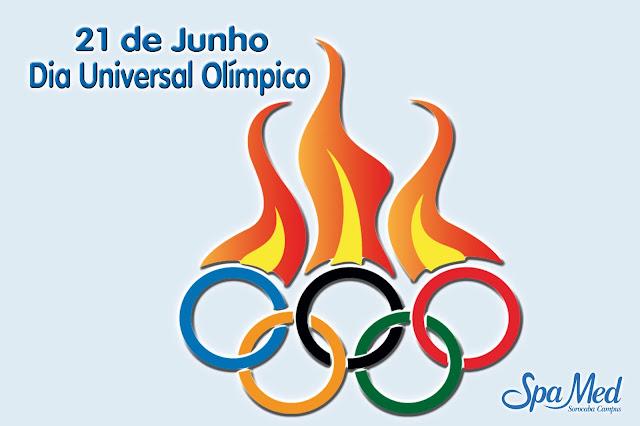 21 de junho Dia Universal Olímpico