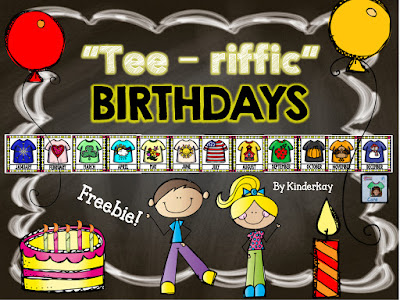 https://www.teacherspayteachers.com/Product/Tee-riffic-Birthdays-Graphing-FREEBIE-1984713