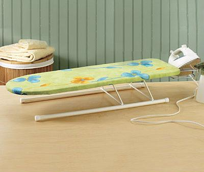 Tabletop Ironing Board| 15 Creative Ironing Board Designs