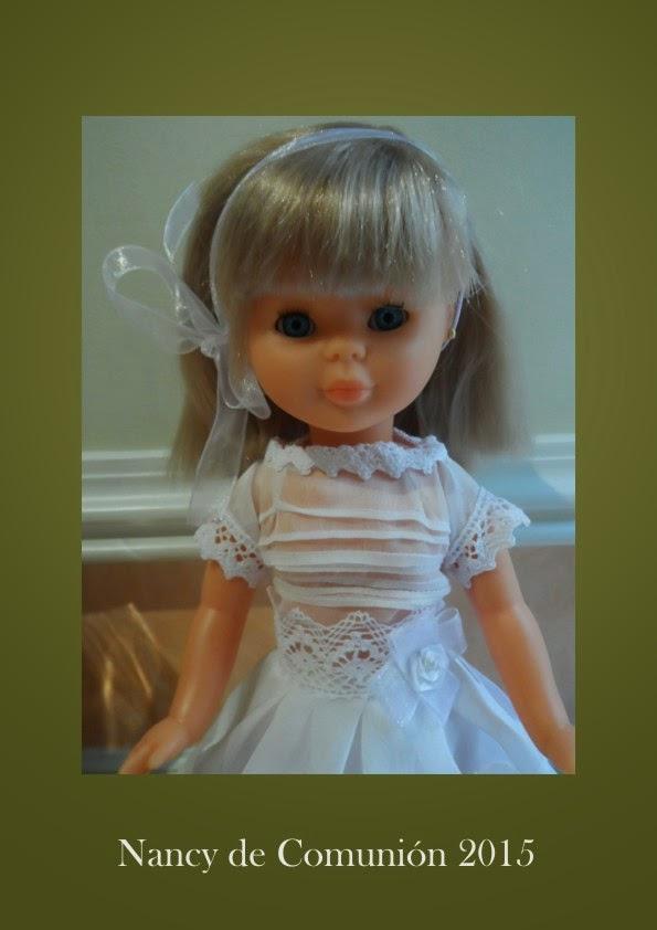 reproduccion de vestidos de comunion para muñecas