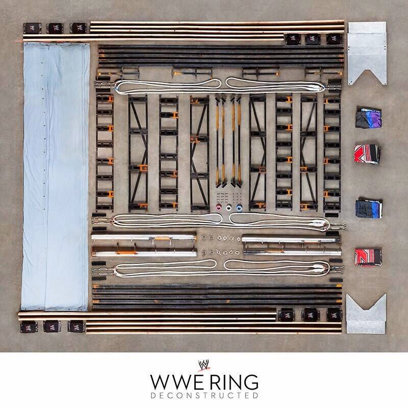 what makes up a wrestling ring construction steps ropes turnbuckles