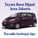 Toyota Baru Dijual Area Jakarta