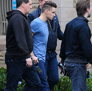 One Direction: Niall, Zayn and Liam in Belfast .