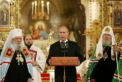 Russia Marches To HOLY WAR