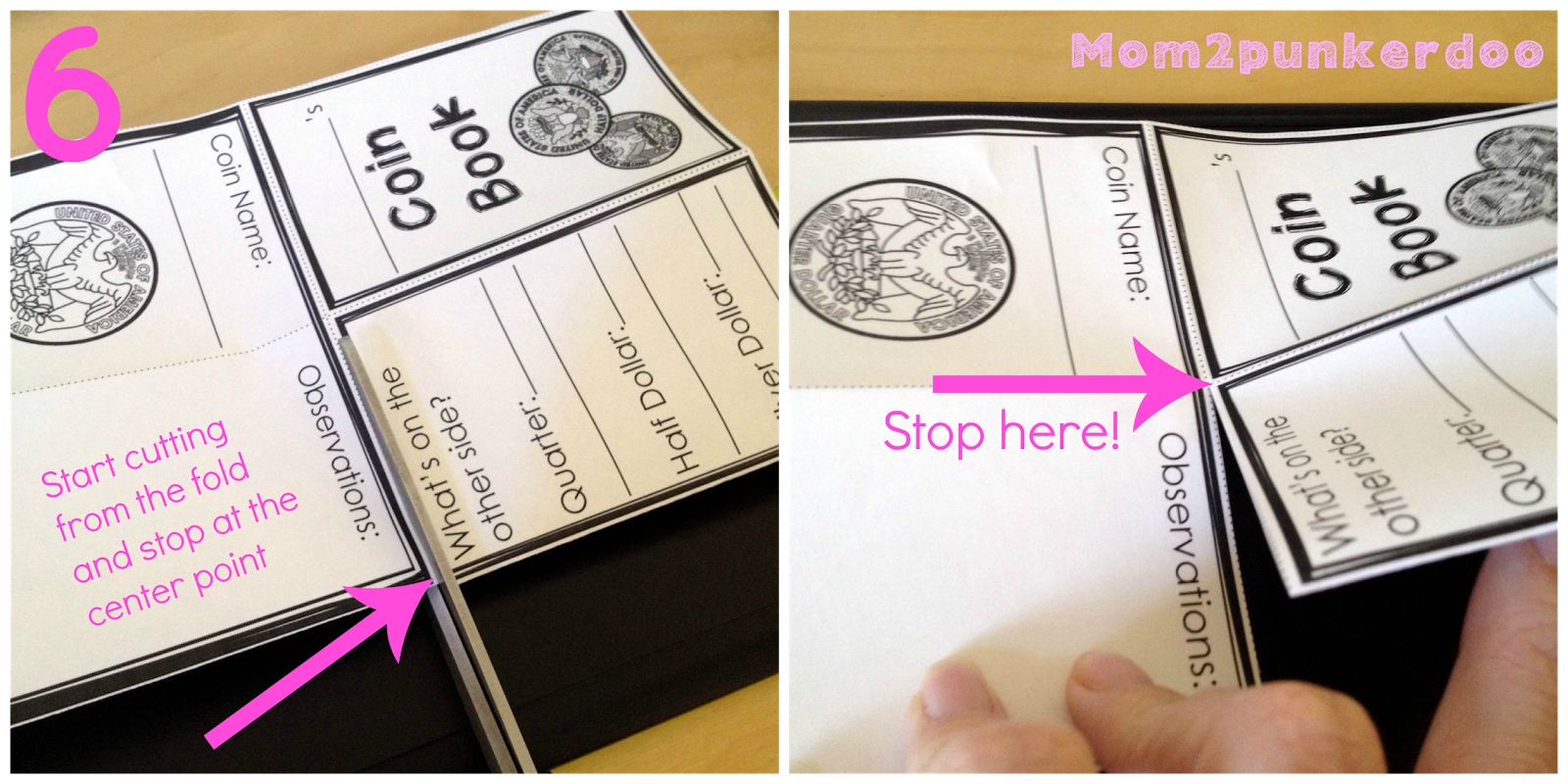 money mini booklet tutorial