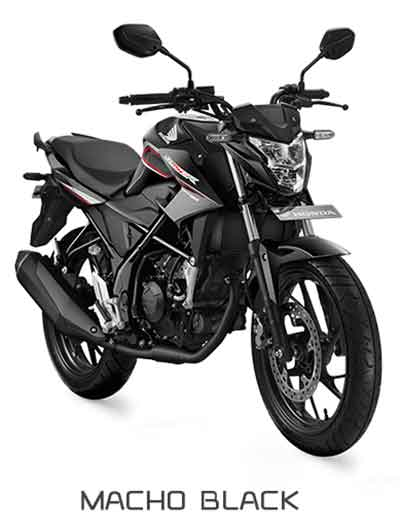 All New Honda CB150R Macho Black