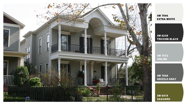 Our Exterior Paint Colors - Cedar Hill Farmhouse