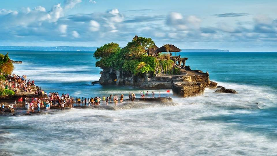 A view great from Bali Province In Indonesia Bali