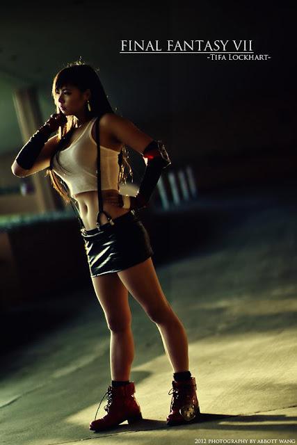 Tifa Lockhart, Tifa Lockhart Cosplay, Final Fantasy Cosplay