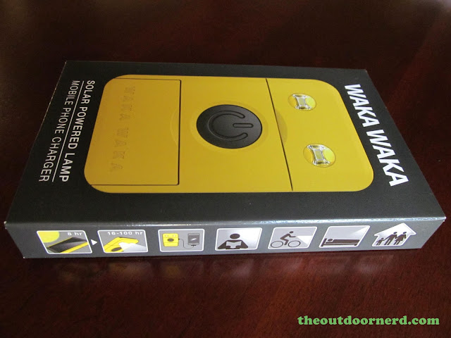 Waka Waka Power: Solar Lantern And Mobile Charger, In Box