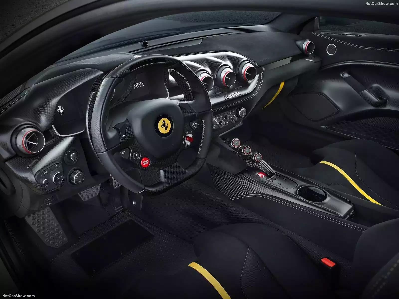 Hình ảnh siêu xe Ferrari F12tdf 2016 & nội ngoại thất