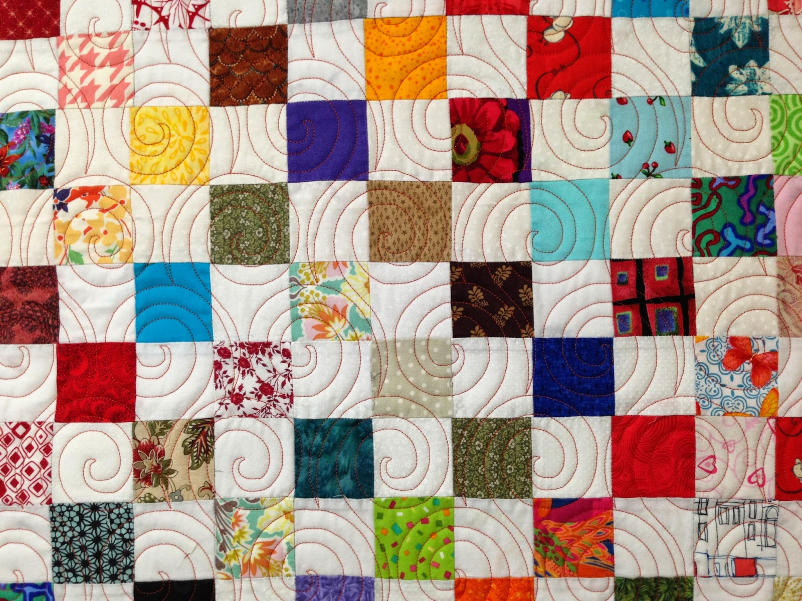 Jean Tucker Checker Board Quilt