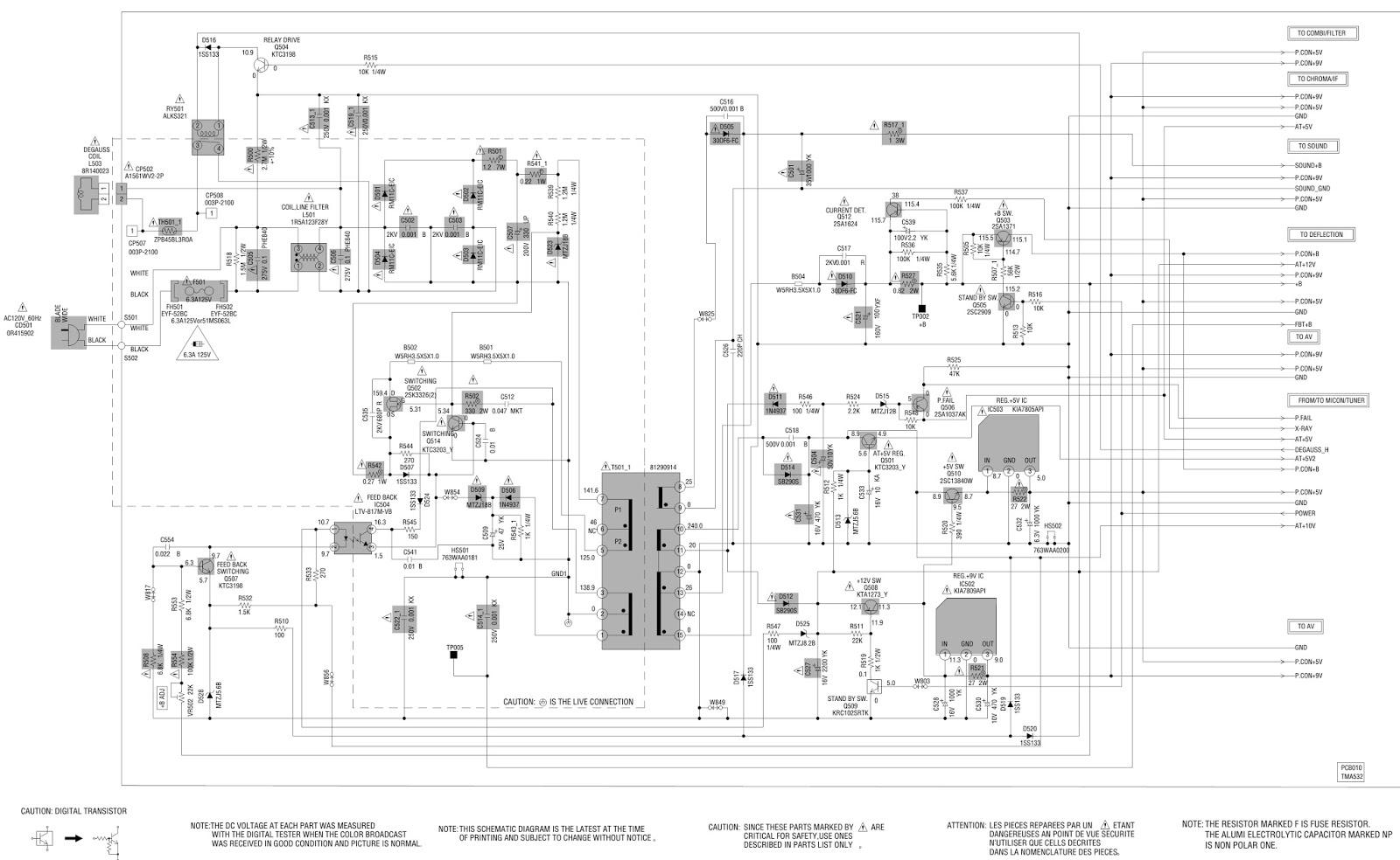 jvc av14f703 crt tv schematic using 2sk3326 ltv 817m rh schematicscom blogspot com free schematic diagram jvc tv schematic diagram tv jvc
