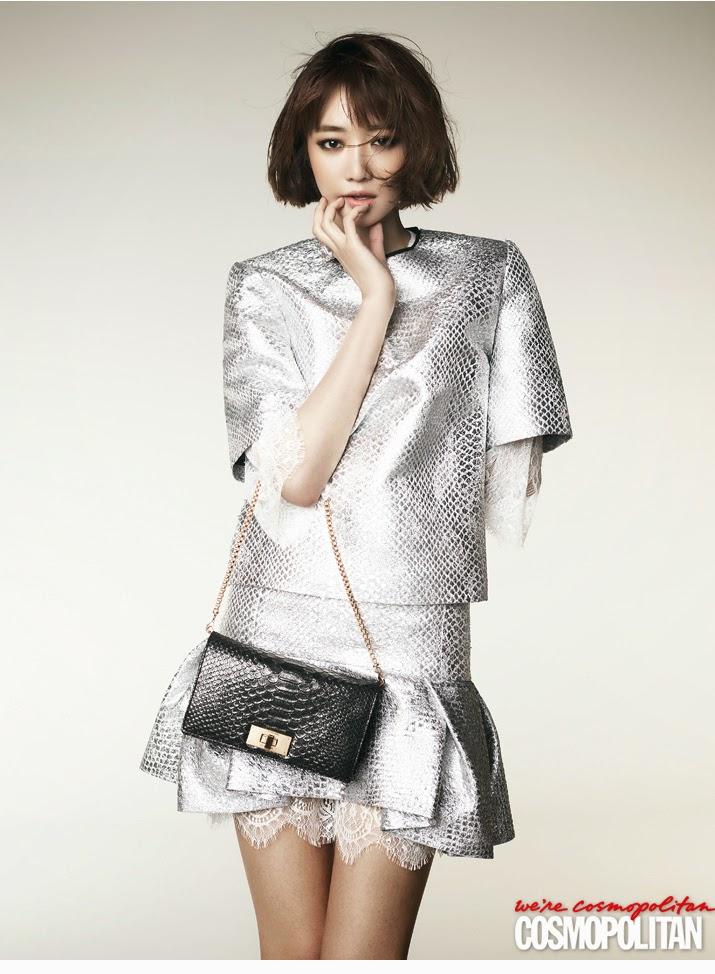 Go Joon Hee - Cosmopolitan Magazine May Issue 2014